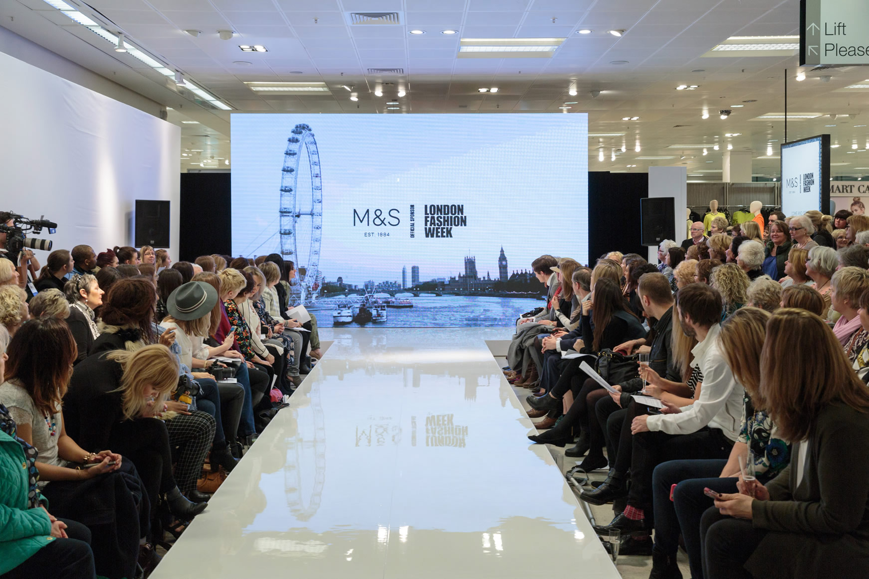 M&S London Fashion Week