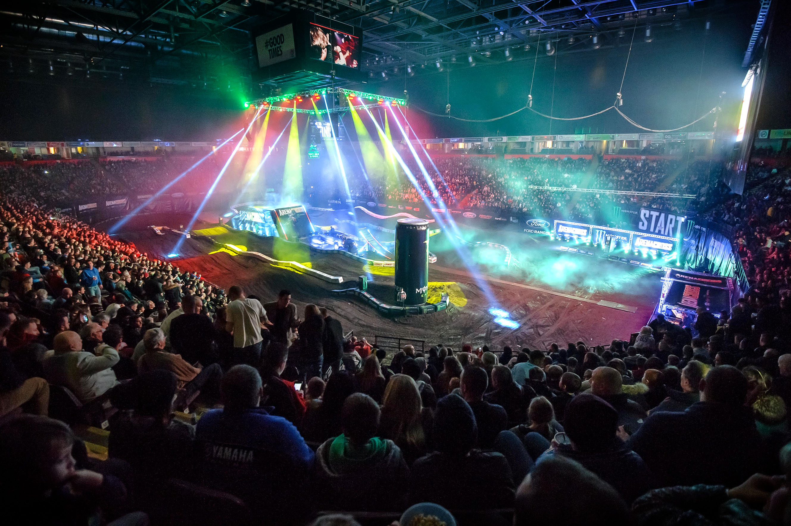 arenacross tour takes off in manchester manchester gossip