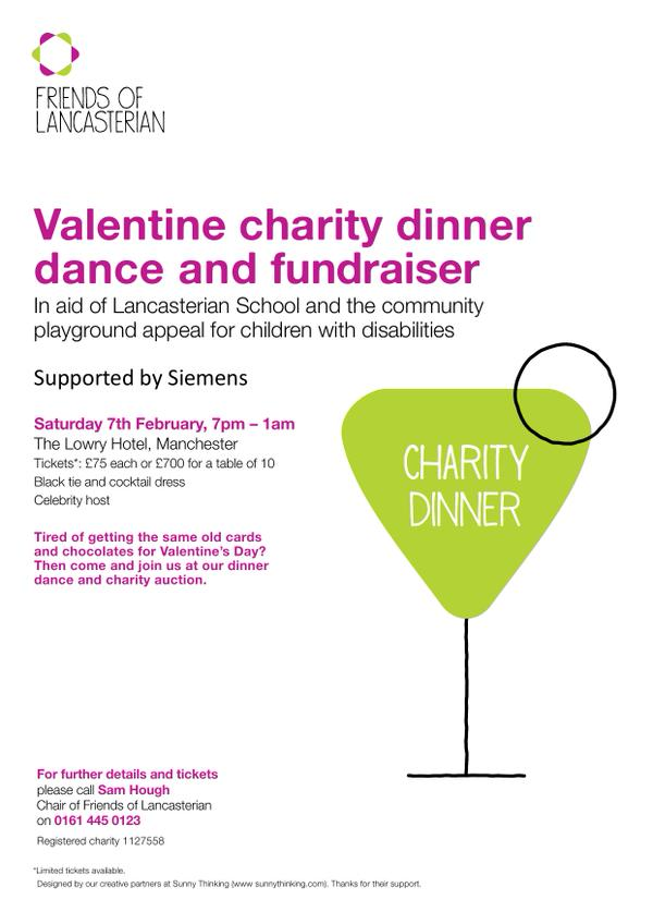 Dave Haslam to DJ at Valentine's Dinner Dance and Auction