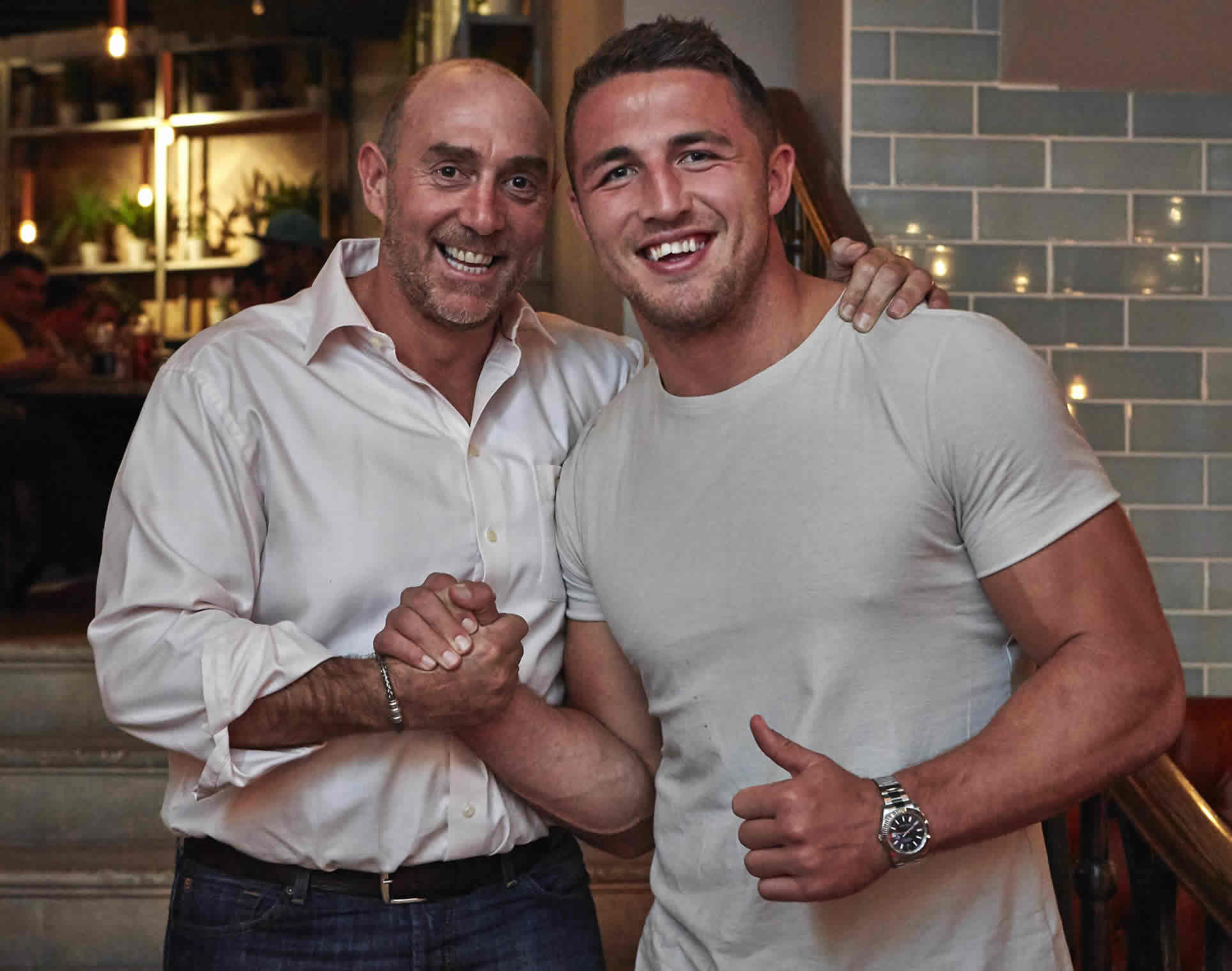 England Rugby Union Squad dine at Banyan ahead of game against Uruguay