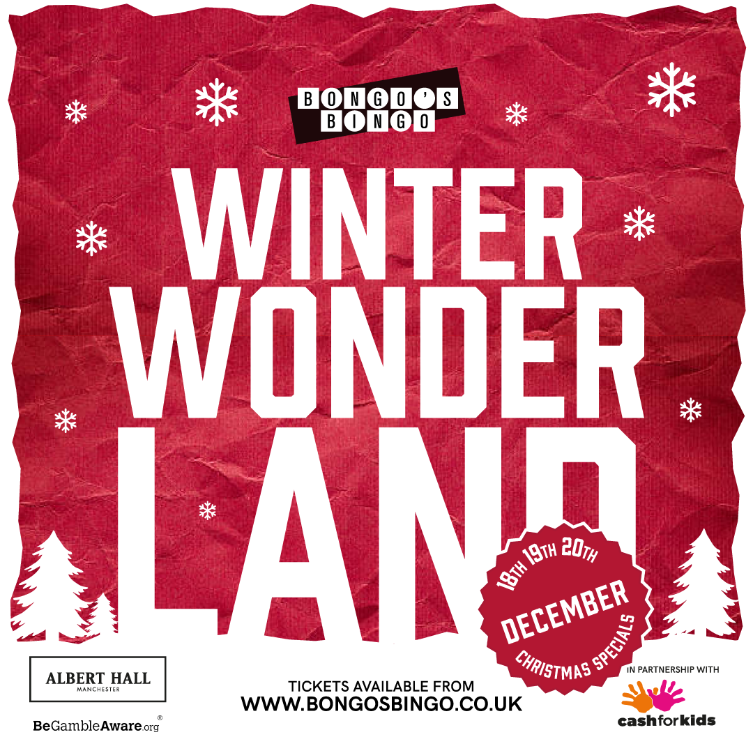 Bongo's Bingo Announces Winter Wonderland for December in Manchester