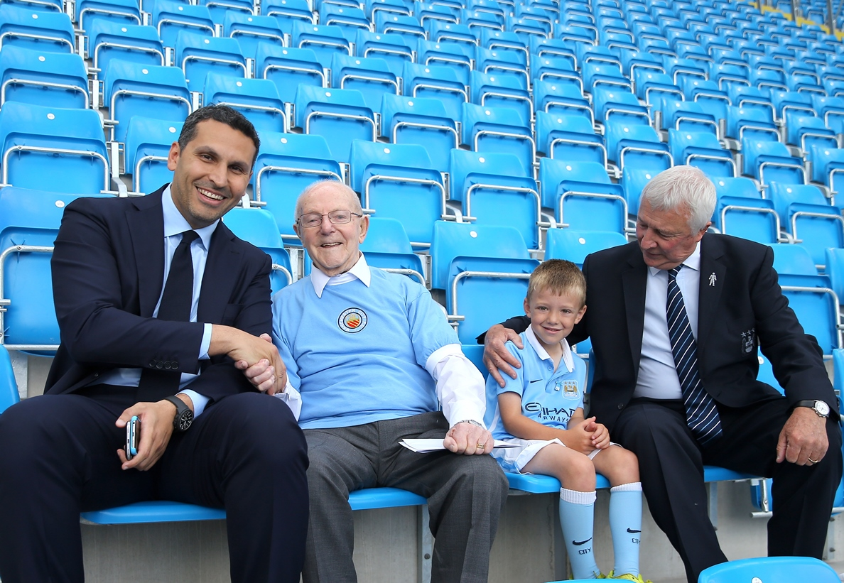 Century Old City Fan Unveils Legends Lounge at the Etihad