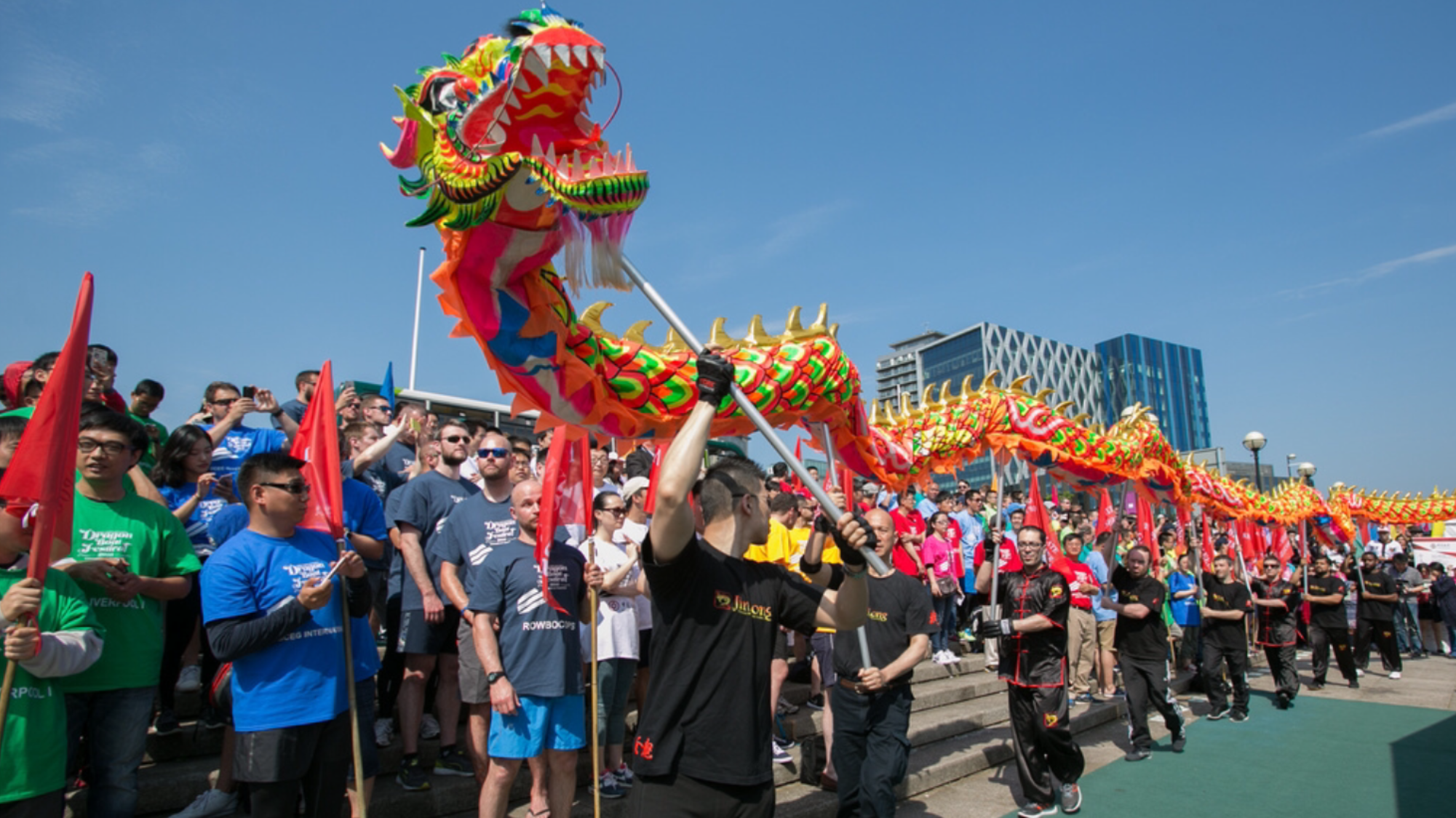 Chinese Dragon Boat Festival - Salford Quays - June 17th