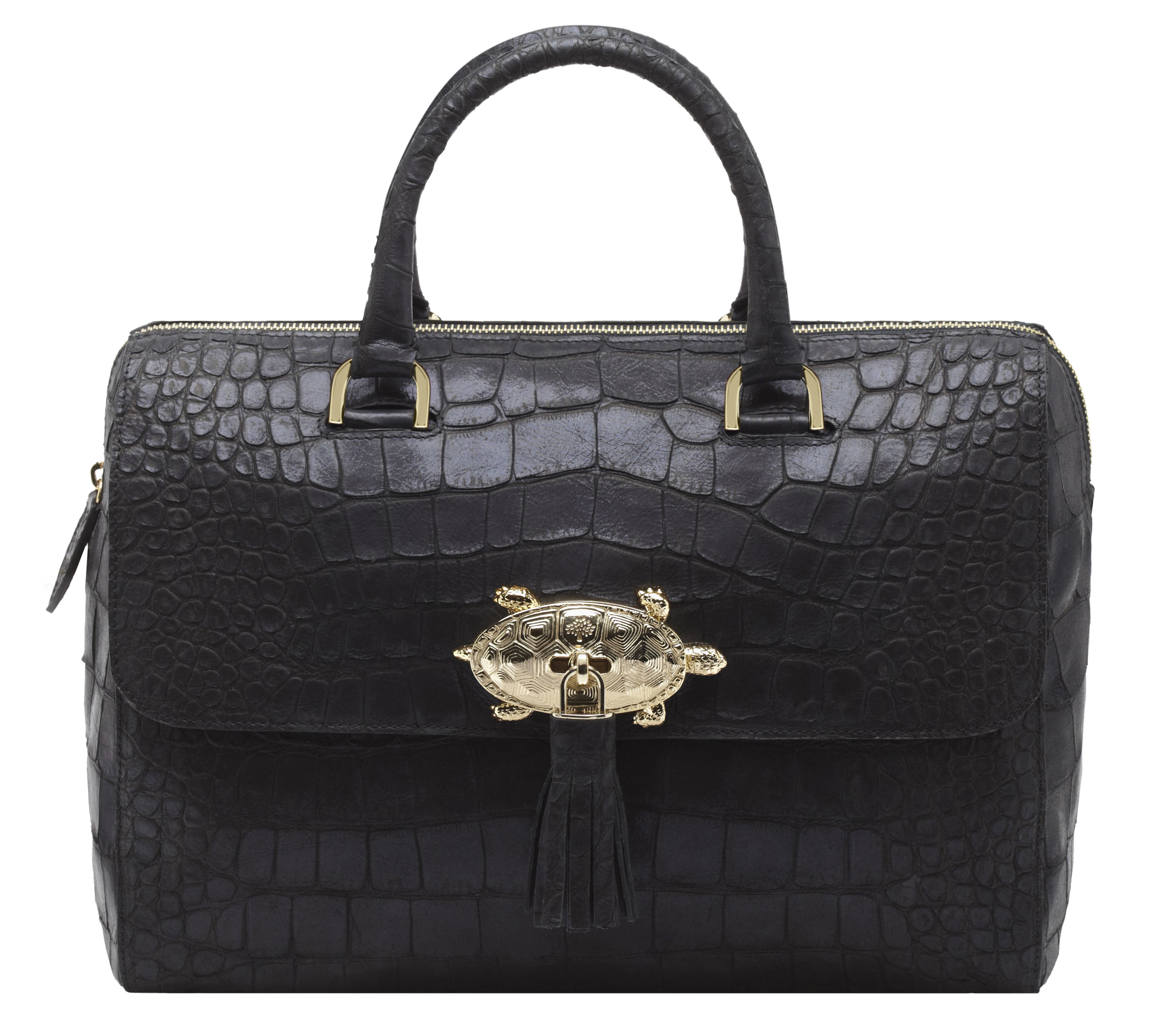Del rey Sparkle croc print in ink blue was £1,400 now £980