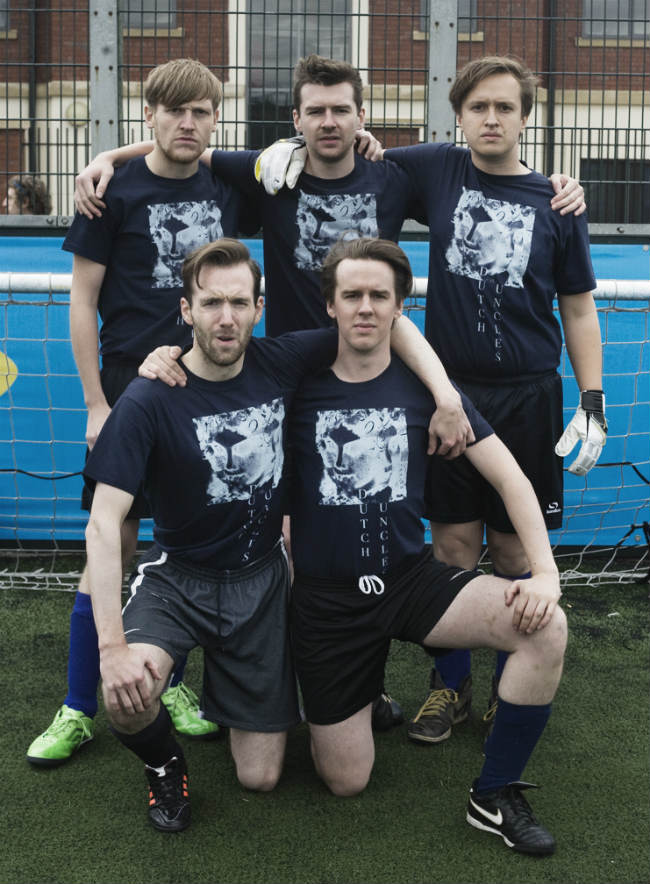 DUTCH UNCLES to premiere New Album at quarter final cup tie