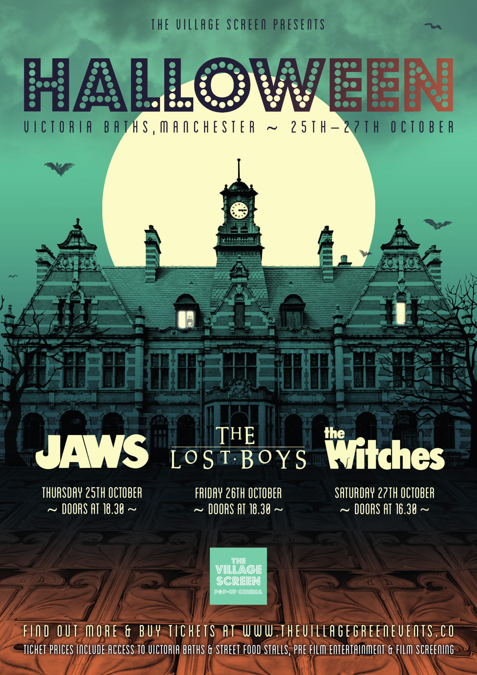 Pop-up cinema to bring the ultimate Haloween experience to Victoria Baths