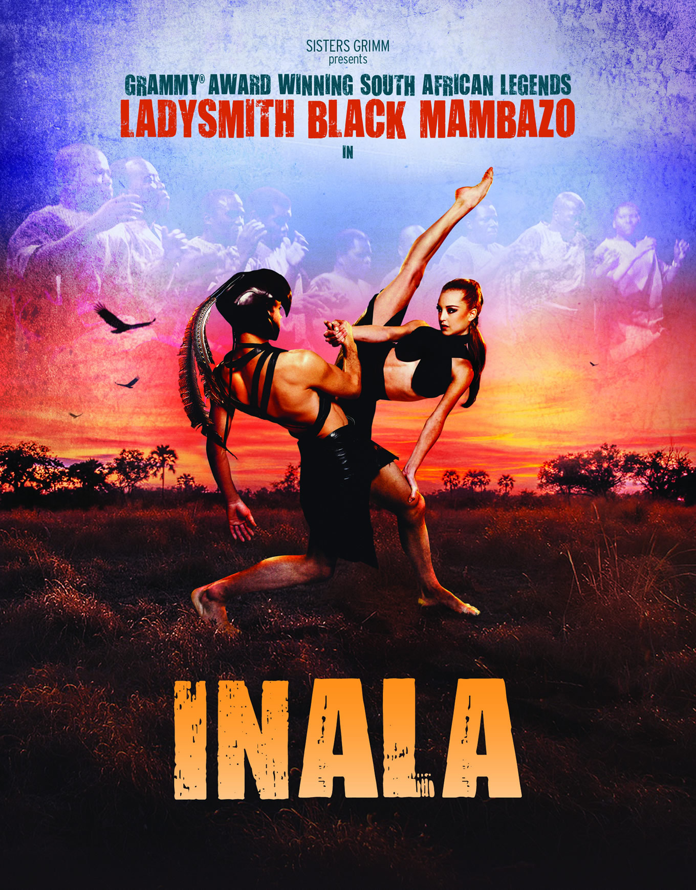 Grammy Award-winning Ladysmith Black Mambazo present INALA