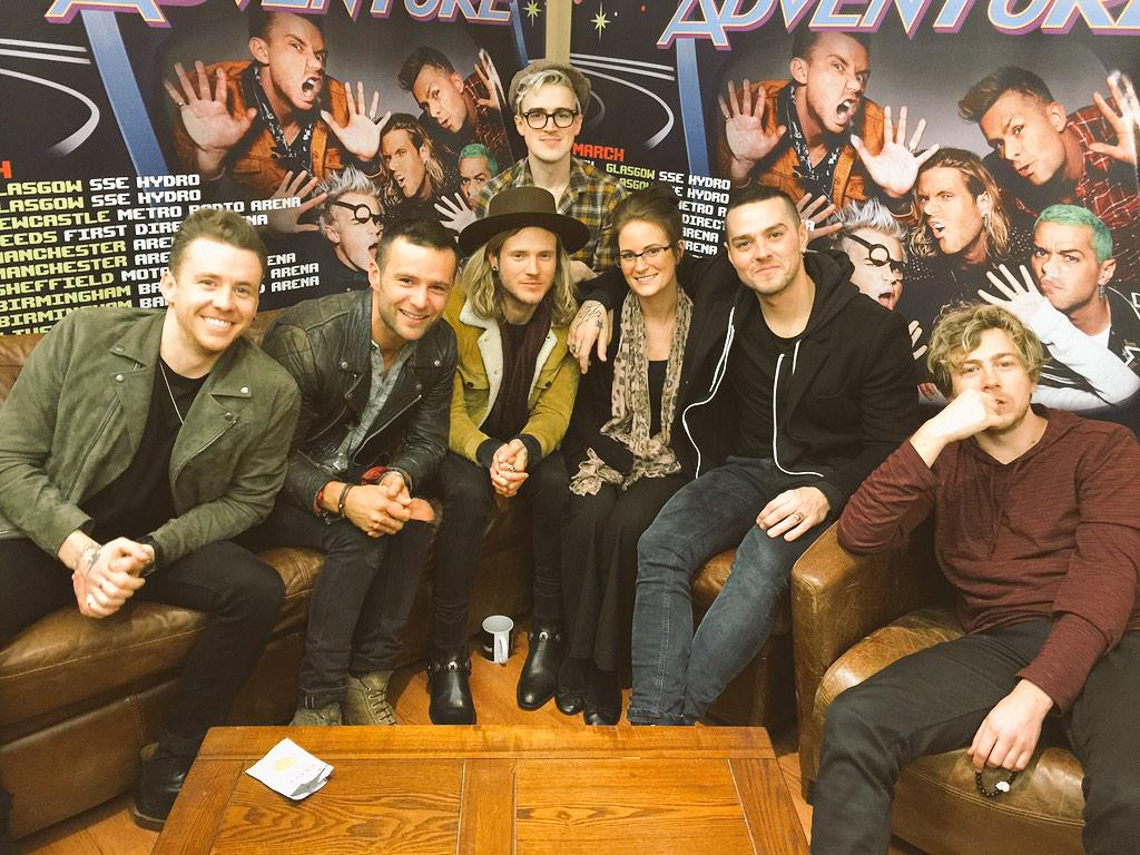 Lauralee with McBusted