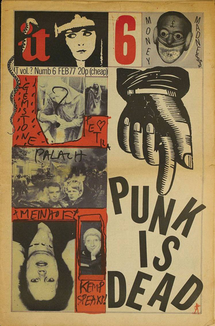 graphic art of the underground from psychedelia to punk