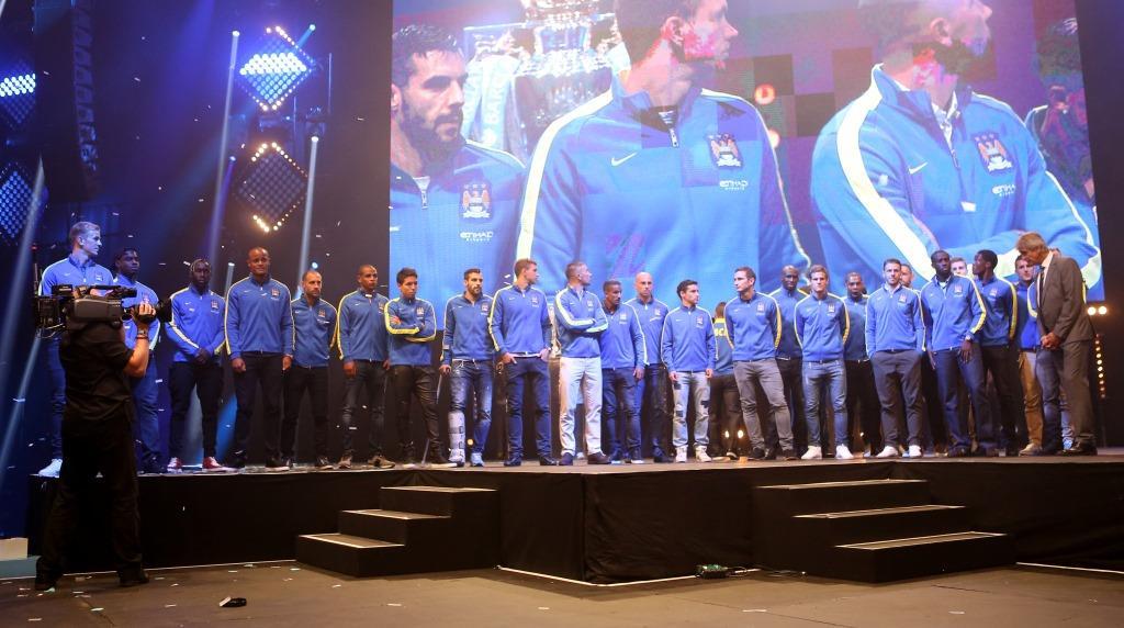 Manchester City Live season launch party
