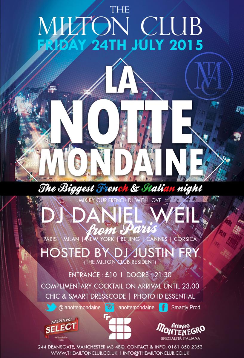 La Notte Mondaine at The Milton Club