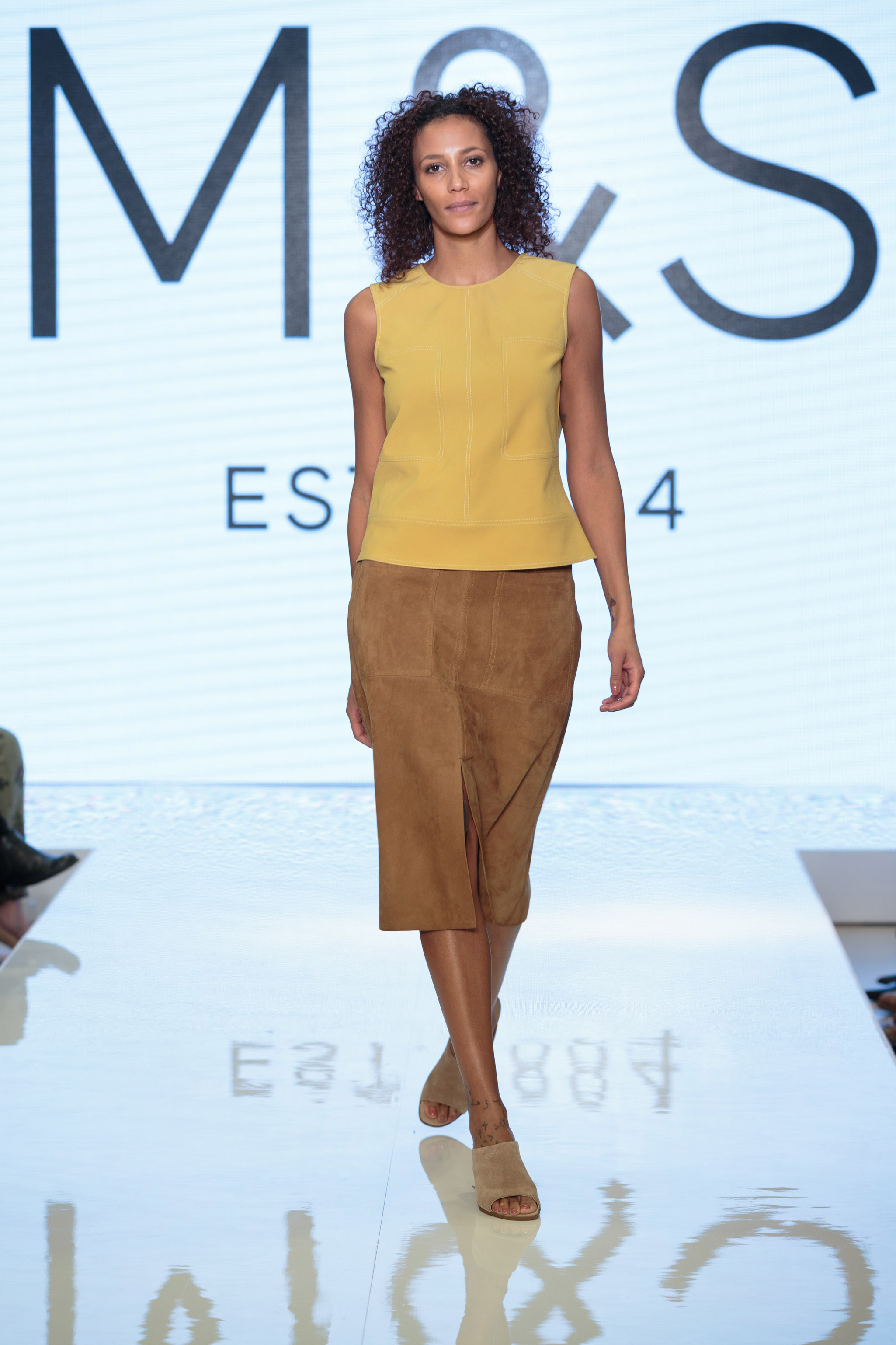 M and S Catwalk