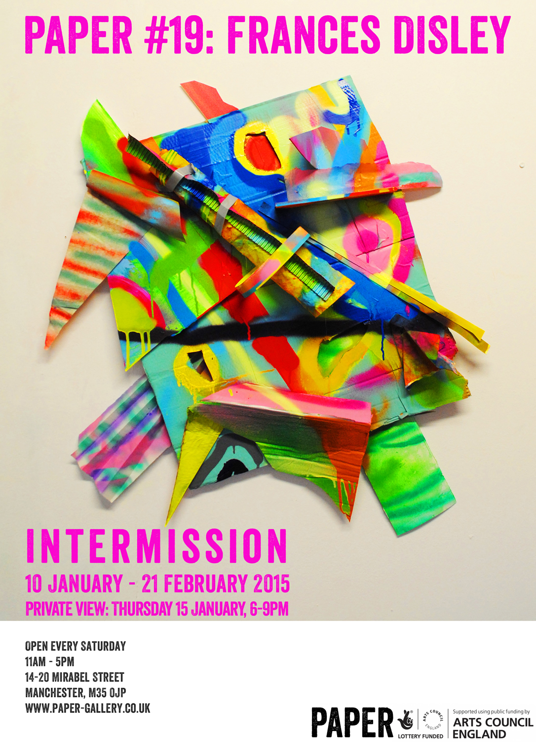 PAPER 19: Frances Disley - Intermission