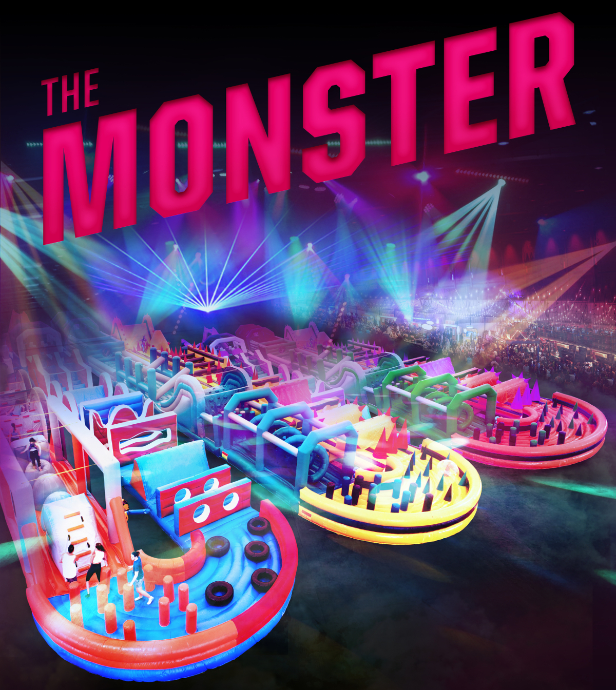 The Monster inflatable and Ed Sheeran this May in Manchester