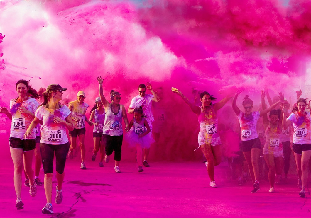 Run or Dye, the world's most colourful 5km  is coming to Manchester