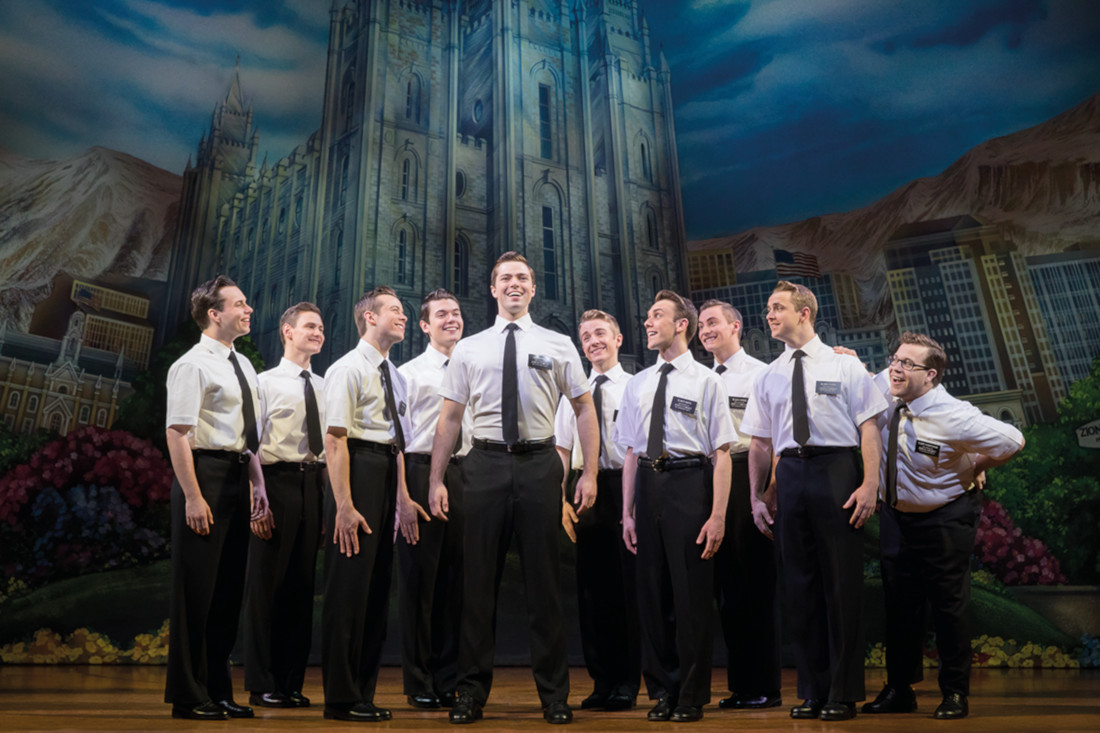 The Book of Mormon, Broadway's smash-hit musical is coming to Manchester.