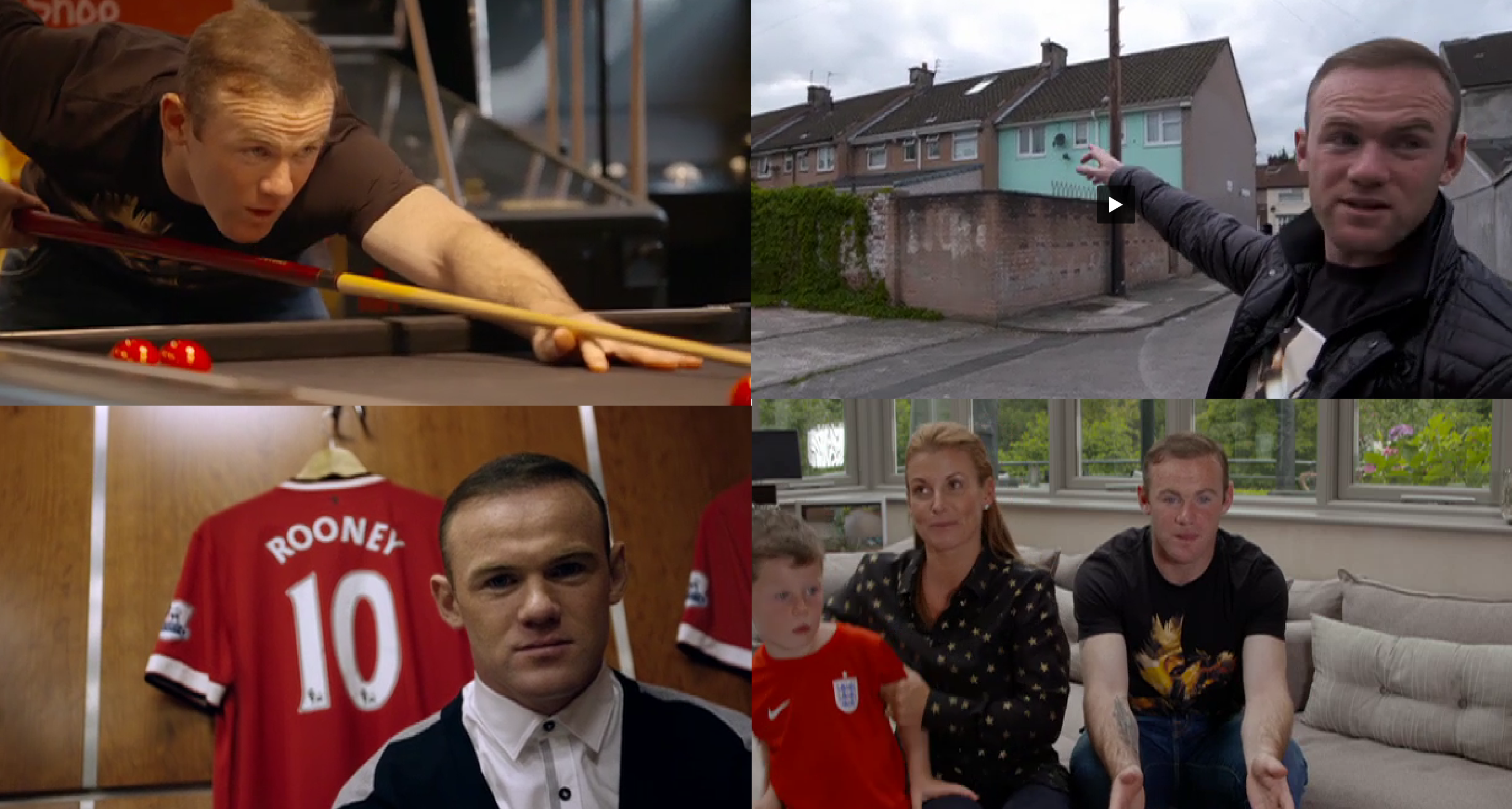 We're given unprecedented access to England's record goalscorer in Wayne Rooney: The Man behind the Goals