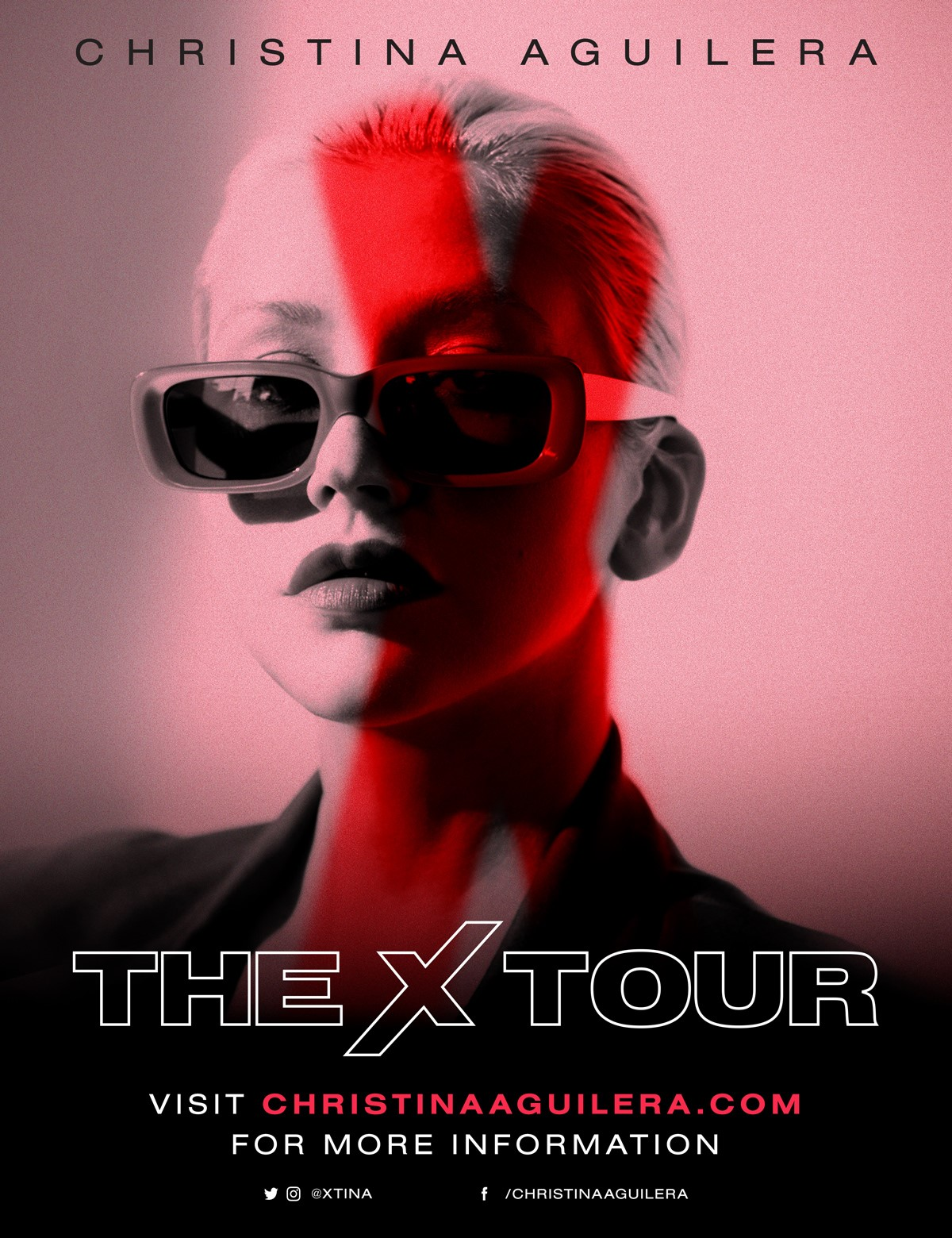 International Superstar CHRISTINA AGUILERA announces The X Tour