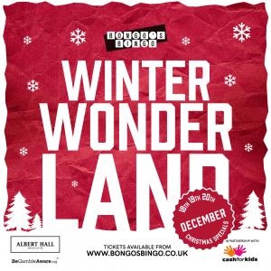 Bongo's Bingo Announces Winter Wonderland for December in Manchester