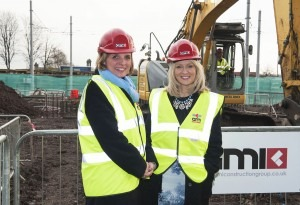 "Employment Minister visits Scarborough's ""Hat Box"" residential scheme in Manchester"