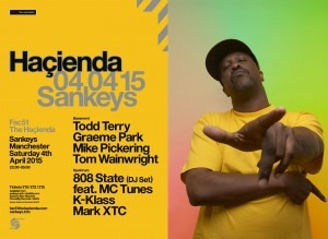 Todd Terry back at the Hac for Easter Saturday 2015 at Sankeys