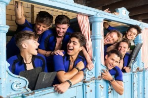 Mamma Mia! Cast cool off at the historic Victoria Baths