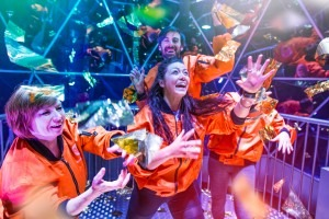Bank holiday antics at The Crystal Maze LIVE Experience