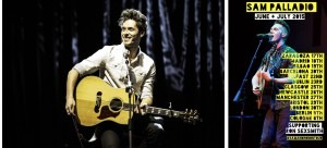 We speak to Star of TV hit Nashville Sam Palladio ahead of his guest appearance on Ron Sexsmith's European tour
