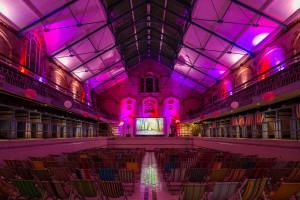 Snuggle up with pop-up cinema at Victoria Baths this Valentine's