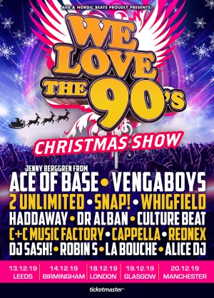 The Ultimate 90s Tour is coming to the UK in 2019