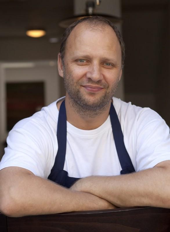 Celebrity Chef Simon Rogan