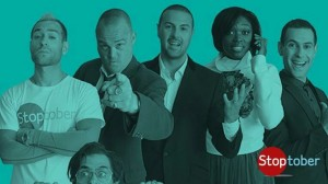 Paddy McGuinness and Al Murray star in campaign to encourage smokers to quit this October