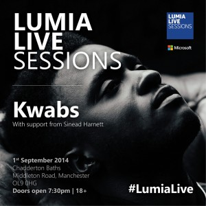 #Win tickets to Kwabs Lumia Live Session in the derelict Chadderton Baths