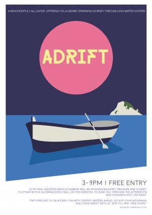 Adrift - The Monthly balearic themed all-dayer at Oddest