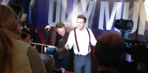 Olly Murs with waxwork