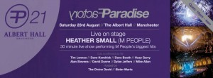 PF21 The Albert Hall, Manchester ~ Saturday 23rd August from 10pm
