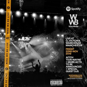 Spotify Presents: Who We Be Live 2019