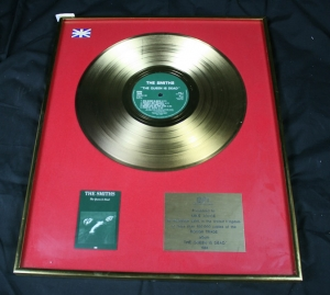 The Smiths The Queen is Dead Gold disk