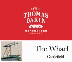 Win a 3 course Dinner for 2 with Thomas Dakin Gin cocktails at The Wharf