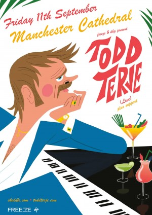 Todd Terje Live at The Manchester Cathedral Friday 11th September