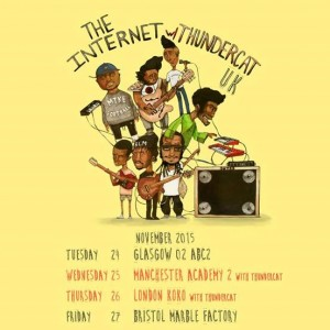 THE INTERNET announce November Tour with Thundercat co-headline