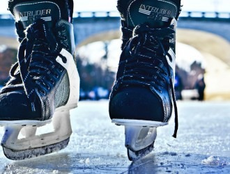 Local charities line up for free skating at Manchester Ice Rink