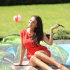 Ex-Corrie beauty Michelle Keegan experiences a flavor of Barbados in Manchester